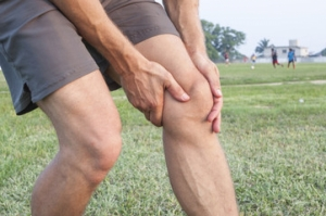 Exercises for stabilization of the ankle and knee